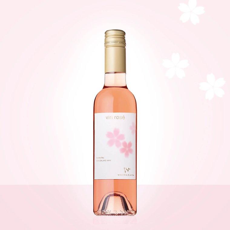 画像1: vin rose SAKURA 2019 ハーフ375ml (1)