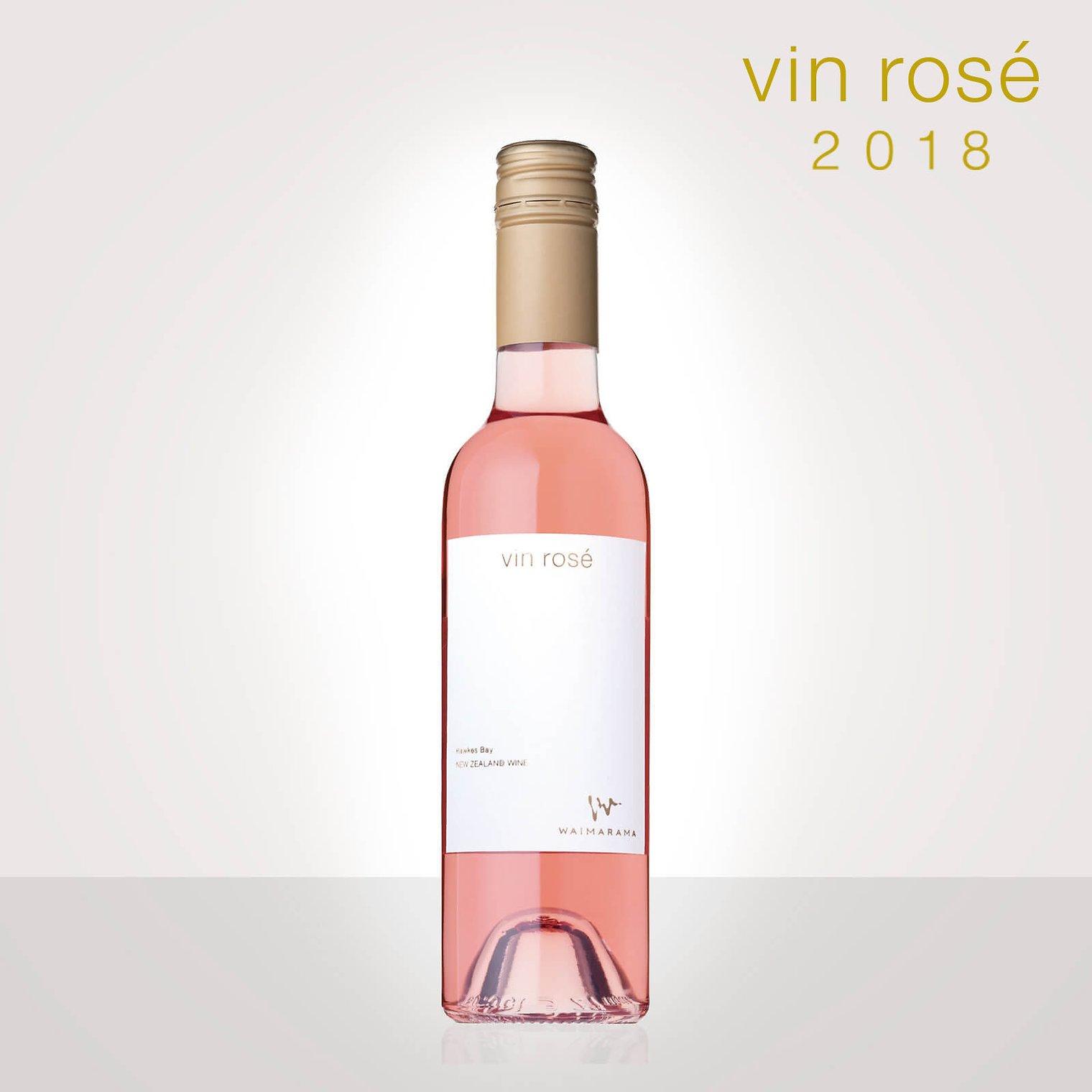 画像1: vin rose 2018 ハーフ375ml (1)