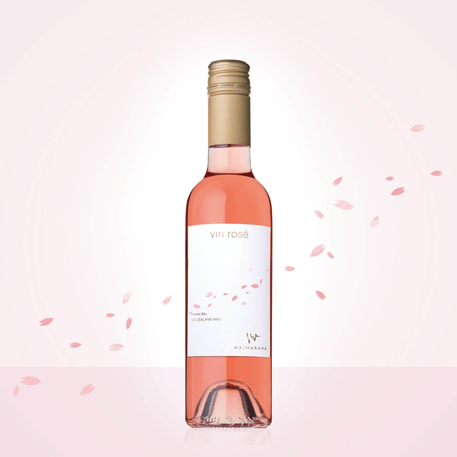 画像1: vin rose SAKURA 2017 ハーフ375ml (1)